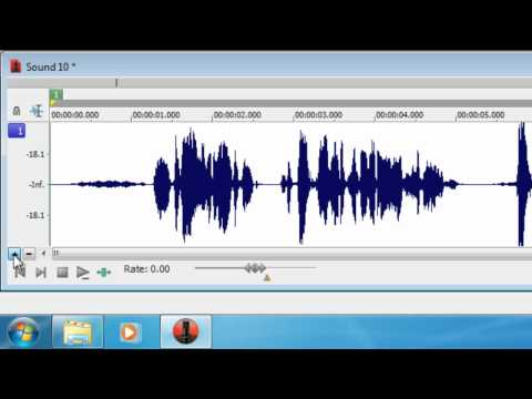 HowTo: Noise Reduction Sound Forge Pro Tutorial - Great for Game Commentary or Podcasts!