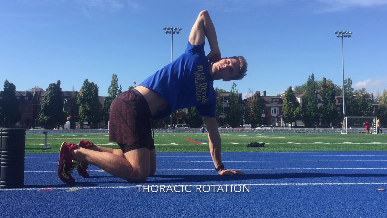 Pre-Run Mobility and Activation