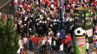 Russian march in Poland (fight) / Русские идут маршем по Польше