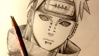 ASMR | Pencil Drawing 94 | Pain (Request)
