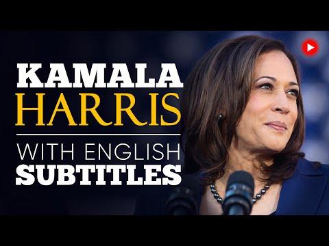 ENGLISH SPEECH | KAMALA HARRIS: Victory Speech (English Subtitles)