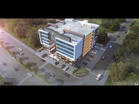 3D MALL ANIMATION WALK-THROUGH - SILICON BUSINESS CENTER