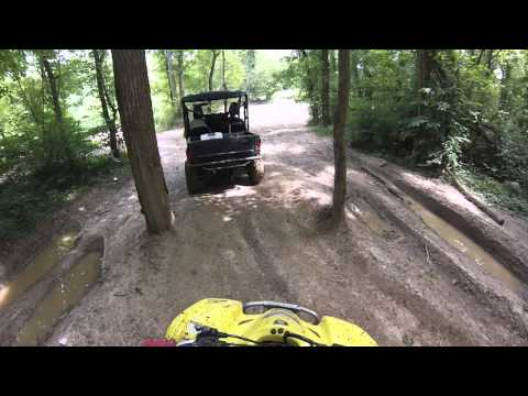 Trail riding in Monroe Kentucky