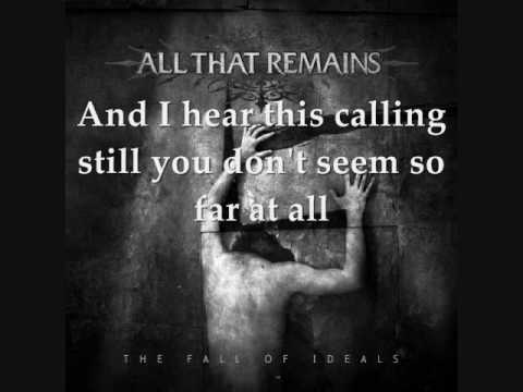 All That Remains  This Calling Lyrics