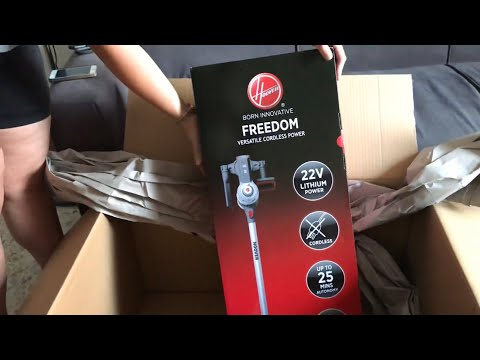 Hoover FD22G aspirapolvere senza fili ricaricabile Unboxing come Daikin - Amazon review unboxing