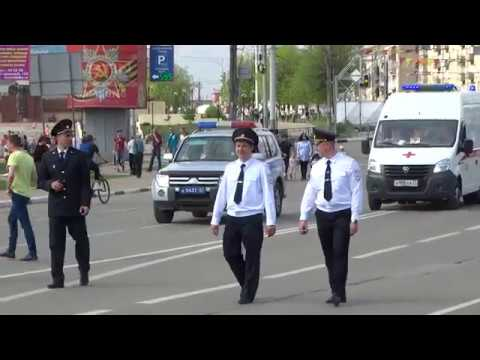 Бессмертный полк. Иваново .9 мая 2019 год. Хвост колонны.