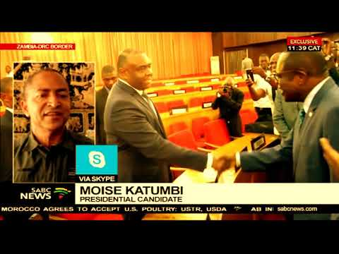 Moise Katumbi on being barred from entering the DRC