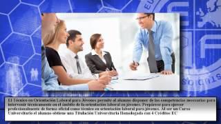 Tecnico Orientacion Laboral Jovenes - Cursos Online