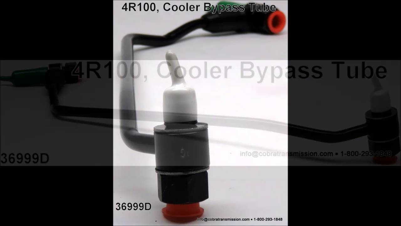 Ford F250 Parts >> 4R100 Cooler ByPass Tube - YouTube