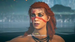 Eivor Romances Ciara - Assassin's Creed Valhalla DLC