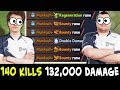 140 KILLS EPIC game — Miracle 105k vs Mind_Control 132k dmg