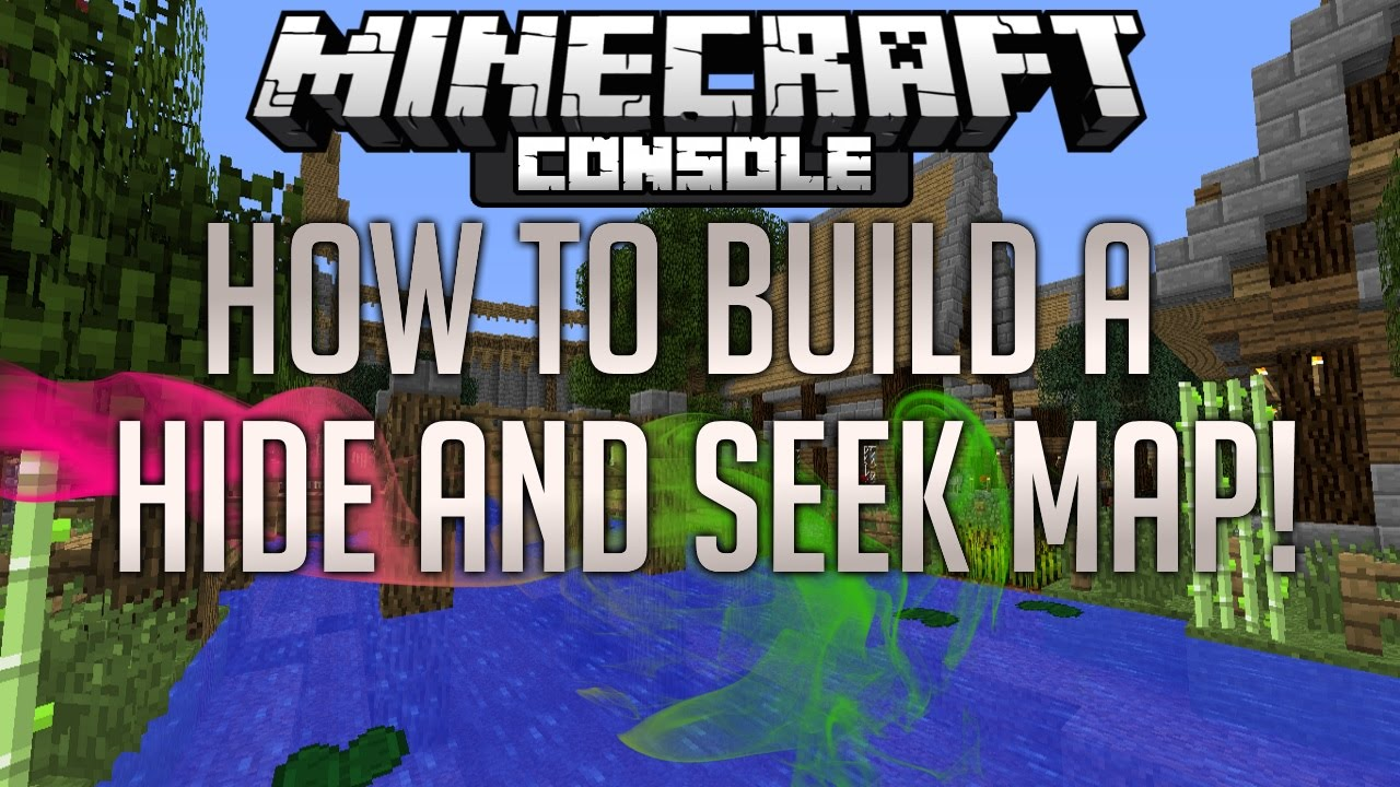 Minecraft Console How To Build A Hide And Seek Map Tutorial Playstationxbox