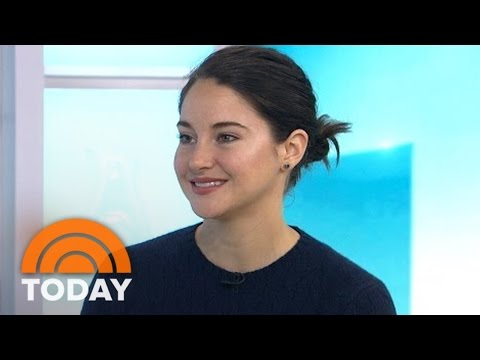 Shailene Woodley On Her 'Divergent' Family, 'The Running,' And What's Next | TODAY