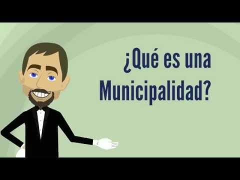 ¿Qué es una municipalidad?