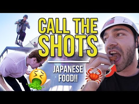 Call The Shots - With Japanese Food!! │ The Vault Pro Scooters