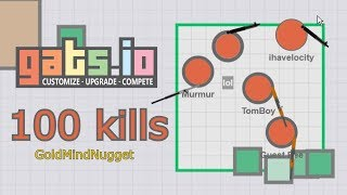 Gats.io - 101 Kills | TEAM MODE