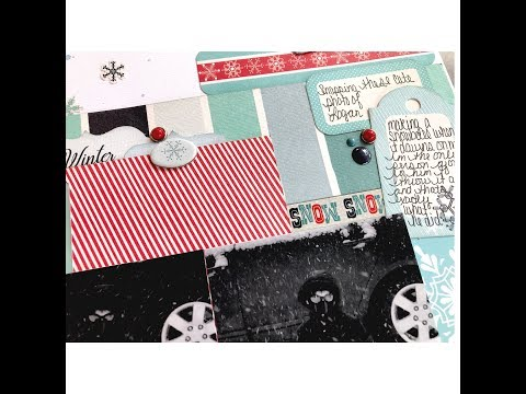 Sketch It Out Thursday-SnowTime ( The Crafty Maven Getaway)