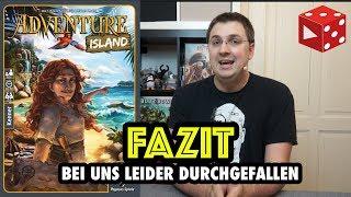 Fazit: Adventure Island - Bei uns leider durchgefallen - Brettspiel im Test (Pegasus 2018)