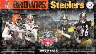An Iron City Classic Comeback! (Browns vs. Steelers, 2002 AFC Wild Card) | NFL Vault Highlights