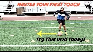 First Touch Soccer Drill To Help You Stay Calm Under Pressure