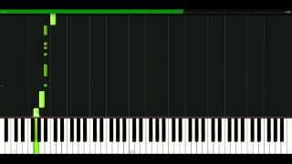 Dido - Don't believe in love [Piano Tutorial] Synthesia | passkeypiano