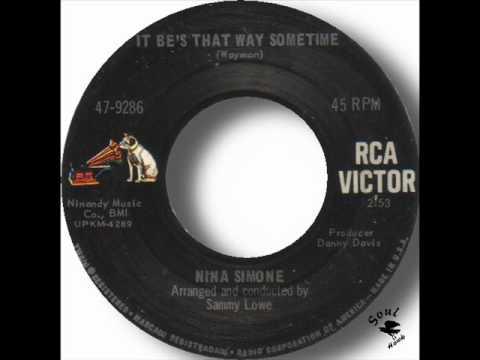 Nina Simone - It Be's That Way Sometime.wmv