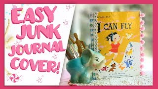 How to Make a Little Golden Book Journal - So Easy & Fun!