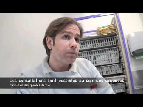 Interview de Gérald Kierzek sur le TPE - Hôtel Dieu de Paris