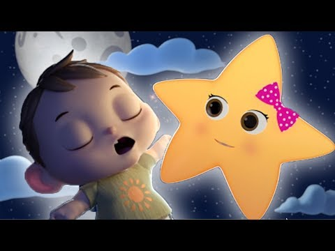 Twinkle Twinkle Little Star | Boo Boo Kids Nursery Rhymes & Kids Songs |  Little Baby Bum
