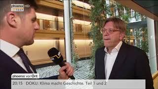 Guy Verhofstadt zum Stand der Brexit-Verhandlungen am 14.11.17