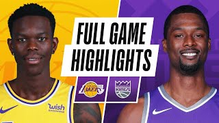 Game Recap: Lakers 115, Kings 94