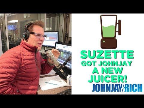 In-Studio Videos - Suzette Got Johnjay A New Juicer!