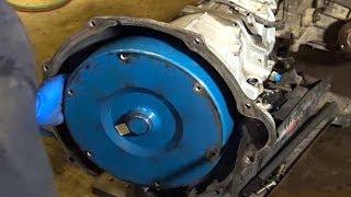 How to remove a stuck torque convertor from a Cummins Diesel Dodge Ram