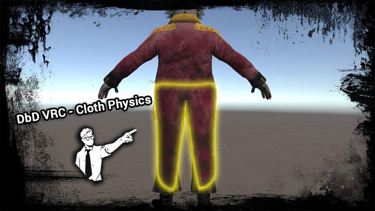 Creating VRChat Avatar - Cloth Physics - Part 5