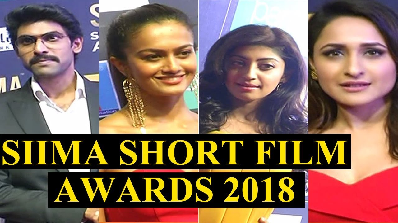 SIIMA 7th Edition Short Film Awards | SIIMA Awards 2018 Curtain Raiser |  Rana | iNews