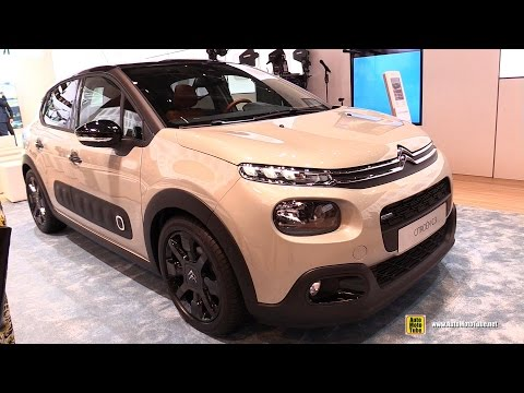 2017 Citroen C3  Exterior and Interior Walkaround  2017 Geneva Motor