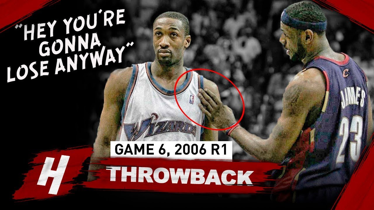 47d3ec443ce7 The Game That LeBron James DISRESPECTED Gilbert Arenas