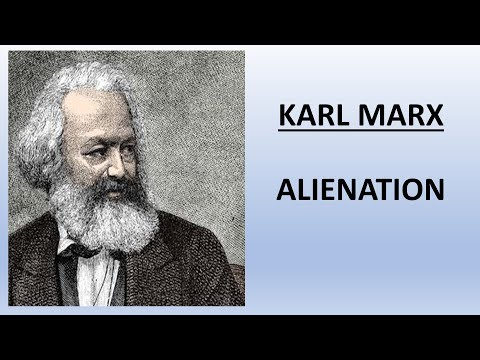 Sociology for UPSC : Karl Marx - Alienation - Lecture 69 (PDF Attached)