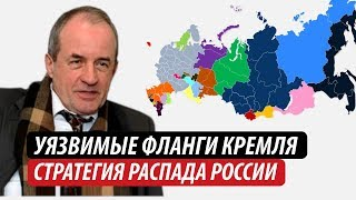 Уязвимые фланги Кремля. Стратегия распада России