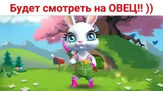 Если МУЖИК БАРАН.... Зайка Zoobe видео.