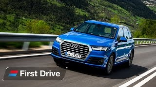 Audi Q7 3.0 TDI S Line first drive review