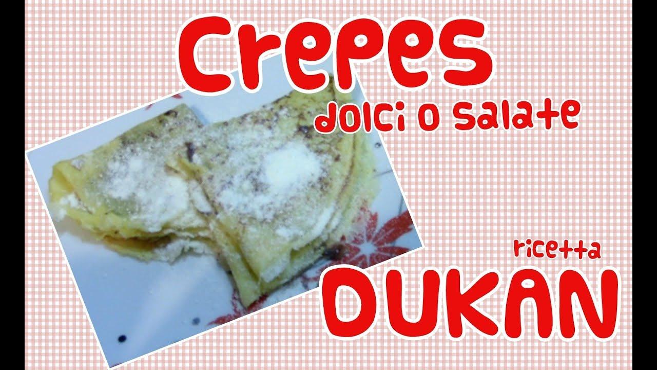 Ricetta crepes dieta dukan