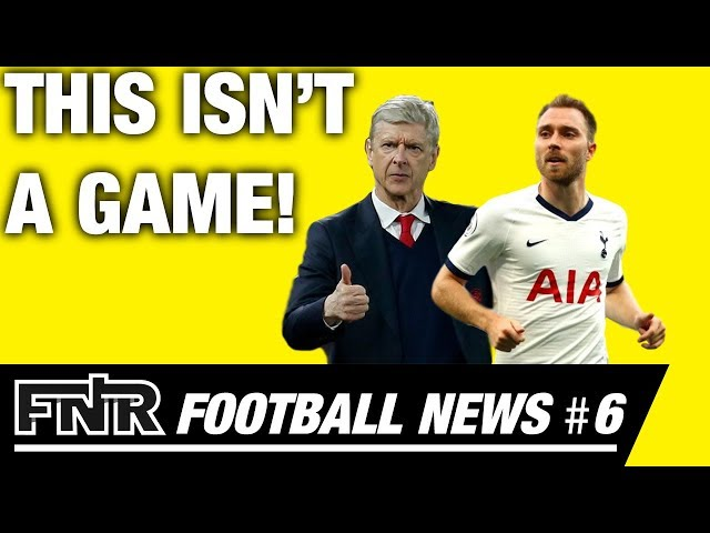 Christian Eriksen's Not-So-Easy Future | 2022 FIFA World Cup Emblem Revealed | Wenger In Not Out?