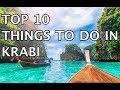 Top 10 Things to Do in Krabi, Thailand 2020 | 4k