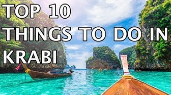 Top 10 Things to Do in Krabi, Thailand 2020 | 4k