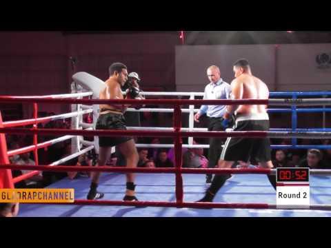 Kiwi heavyweight Junior Fa vs former Aussie champ Hunter Sam - ABA Stadium - May 2017