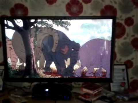 The Jungle Book 1967 Elephant Smash.