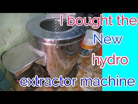 My new hydro extractor machine for laundry (Hindi)