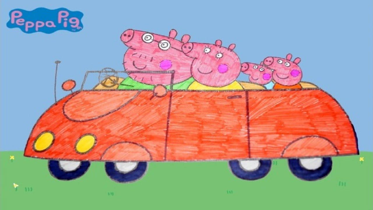 Свинка Пеппа. Peppa Pig. Раскраска, развивающий мультик ...