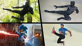 Top Stunts 2020 In Real Life (Spiderman, Sonic, Anime, MORE!)